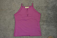 Ladies Purple River Island Sleeveless Top Size L