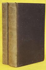 POTT,DIE ZIGEUNER IN EUROPA UND ASIEN,2 BÄNDE,ERSTAUSGABE,HALLE,1844