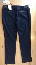 Laura Ashley Putney Slim Leg Black Trousers size 16 bought for £70