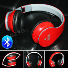 Red Stereo Bluetooth 3.0 Wireless Headsets/Headphones Handsfree For PS3 PS4 MP4