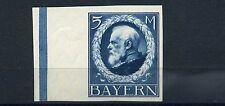 Bayern 5 Mark Ludwig 1914** ungezähnt Michel 107 I U geprüft (S10328)