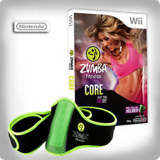 Zumba Fitness Core with Fitness Belt ~ Wii (in Great Condition)