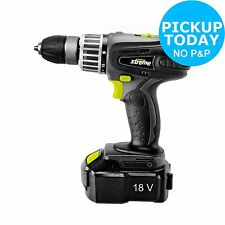 Challenge Xtreme Ni-Cd Cordless Hammer Drill - 18V -From the Argos Shop on ebay