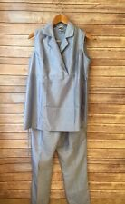 Maternity Suit Small Blue Take Nine Pants Suit��