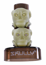 CHEAPEST SKULLY GLOW IN THE DARK FRONT AND REAR SET BIKE LIGHT GREEN SAFETY