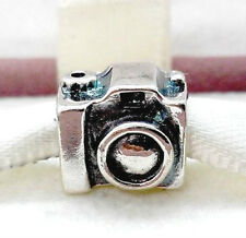 925 STERLING SILVER CAMERA CHARM BEAD