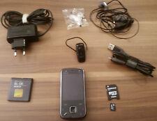Nokia N86 - 24 GB - Großes Zubehörpaket! - FM Transmitter! - Smartphone WLAN 3G