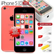 New in Sealed Box APPLE iPhone 5C Pink 16GB 4G LTE Version Smartphone 1 Yr Wrty