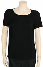 Womens New French Connection Classic Black Short Sleeve Top Size XS