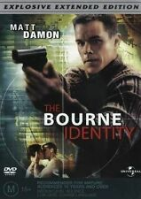 The Bourne Identity DVD EXPLOSIVE EXTENDED EDITION Region 4 Very Good Condition