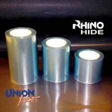 RHINO HIDE Clear Helicopter Bike Frame Protection Tape - 2mtr x 75mm 3 X LAYER