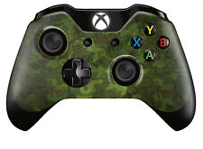 Xbox One Controller/Gamepad Skin / Cover / Wrap - Green Woodland Camouflage