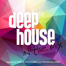 CD Deep House in the Mix von Various Artists 2CDs