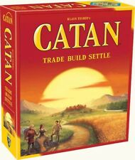 Settlers of Catan trade build sttle Fun Family Social Board Game A83H
