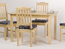 Esstisch Tisch Küchentisch Speisetisch massiv Kiefer natur lackiert  120 x 80 cm