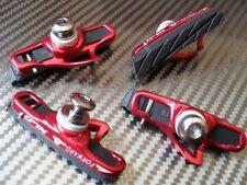 XLC Road Bike BRAKE PADS (set of 4) Suits Shimano SRAM Campagnolo Calipers ALLOY