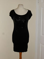 Designer Jane Norman Party Sequin Dress Size UK 8 Debenhams Xmas New Year Party