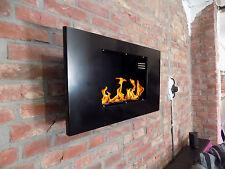 Wandkamin Schwarz Ethanolkamin Bioethanol Gelkamin Gel-Kamin Fireplace Kamin 065
