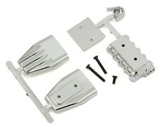 RPM 1/10 Chrome Mock Intake & Blower Motor Set Accessory #73413 OZ RC Models