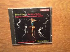 Stravinsky - The Rite Of Spring [CD Album] CHANDOS Neeme Järvi  Friedli  Lang
