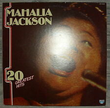 LP Vinyl  Mahalia Jackson - 20 Greatest Hits,VG+, Lotus LOP 14027