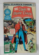 Vintage Marvel Classic Comics From 1977~~The Count of Monte Cristo