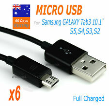 6x MICRO USB Data  Charger Cable  For Samsung Galaxy Tab3 10.1/ S5 S4 S3 S2