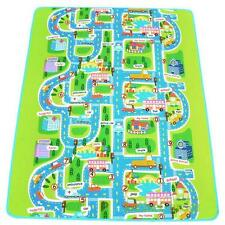 Kids Car Road Track Children Play Mat Pad Rug Le go Big 2M x 1.6M + Carry Bag NN