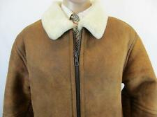 FRONT LINE MENS FLYING JACKET    SIZE 42/44 CHEST BROWN CODE-EA2006