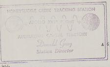 Stamp Australia 1980 Rotary on HONEYSUCKLE CREEK TRACKING STATION cachet cover