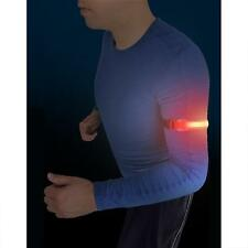 2 mal LED Reflektorband Armband Leuchtband Reflektierend Reflektoren Klettband