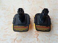 2x New Dewalt 18V to 20V Battery Convertor DCA 1820 Adapter for Dewalt Battery