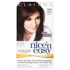 Nice'n Easy Tones & Highlights Built In Natural Dark Burgundy Brown 113A