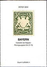 Bayern-Leitfaden 4, Farbtafeln Wappen-Pfennigausgaben