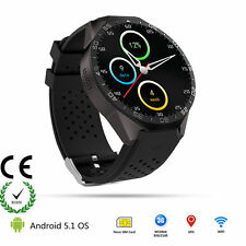 KW88 Android 5.1 Quad Core 4GB Bluetooth 3G Smart Watch GPS WiFi for IOS Andriod