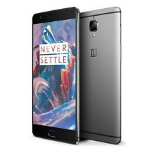 "OnePlus 3 Graphite 5.5"" 64GB 6GB RAM 4G LTE Unlocked Smartphone Global Ver A3003"