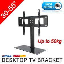 Desktop Table Top Mounting Stand Bracket LCD LED TV 30 32 37 40 42 46 50 52 55""