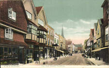 Salisbury. The High Street by FGO Stuart # 467.