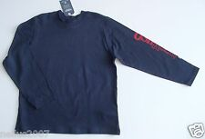 BNWT Boys Osh Kosh Navy Blue Logo Cotton Long Sleeve T-Shirt Top Age 6