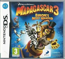 Dreamworks Madagascar 3: Europe's most wanted Nintendo Ds (plays 3ds in 2D)