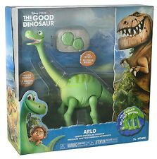 REMOTE CONTROL GOOD DINOSAUR ARLO WALKING TOY ROBOT SOUND LIGHT KIDS MOVING