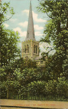 WIMBLEDON( London) : St Mary's Church -COLLECTOR PUBLISHING-SUTTON single ring