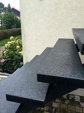 Blockstufe dunkel geflammt Trittstufe Treppenstufe Aussentreppe Stein 6cm dick