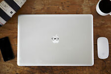 """Glasses Decal Sticker for Apple MacBook Air/Pro Laptop 11"""" 12"""" 13"""" 15"""""""