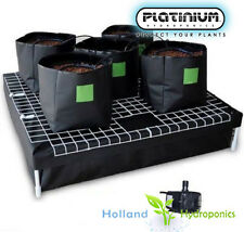 Completed Setup Hydroponic Pots Watering System 100 Water Pump Indoor Grow Tent