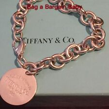 Tiffany & Co Return to Tiffany silver chunky chain bracelet RRP $495 Reduced