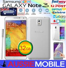 GOOD CONDITION Samsung Galaxy Note3 4G LTE 32GB Unlocked WHITE 100%GENUINE