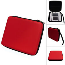 RED Hard Protective Carry Storage Case Cover With Zip for Nintendo 2DS + Games