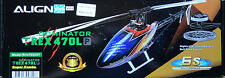 Align Trex 470 LP Dominator 470 Sized Electric Helicopter