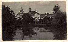 Častolovice Tschechien Česká Böhmen ~1940 Schloss Zámek Palast Teich Gebäude See